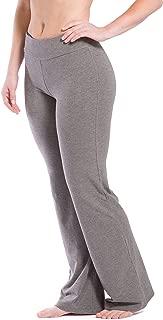 Women's Ecofabric Classic Bootleg Yoga Pant; Athletic Casual Pant