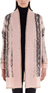 TWIN-SET Luxury Fashion Womens 192TT333104385 Pink Cardigan | Fall Winter 19