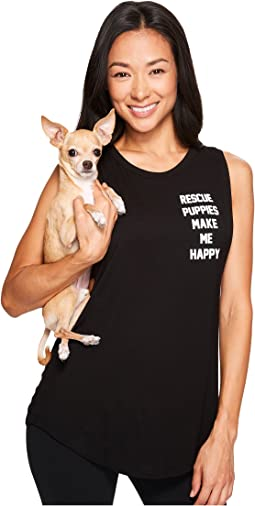 Rescue Puppies Motto - Sleeveless