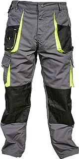 Juicy Trendz® Mens Work Trousers Heavy Duty Workwear Cargo Combat Knee Pad Pockets Working Pants