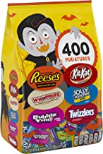 HERSHEY'S Bulk Halloween Candy Variety Mix (REESE'S, KIT KAT, WHOPPERS, BUBBLE YUM, JOLLY RANCHER, TWIZZLERS), 117.5 oz