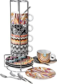 Missoni for Target 16 Piece Espresso Cup and Saucer Set (1)