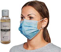 25 Face Masks, Disposable Face Masks 3 Ply Non Medical Mask