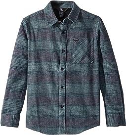 Buffalo Glitch Long Sleeve Shirt (Big Kids)
