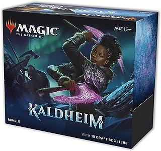 Magic The Gathering: Kaldheim  Bundle Booster   10 Boosters   15 cards por Booster   Inglês