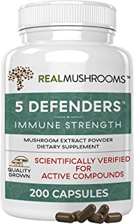 Real Mushrooms 5 Defender Parent (200 Count)