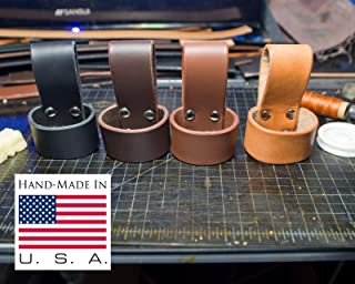 Ax holder loop or holster made from Top Grade Leather