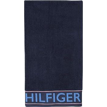 dise/ño de la Bandera de Tommy 70 x 130 cm Toalla de Ducha Color Azul Marino Tommy Hilfiger