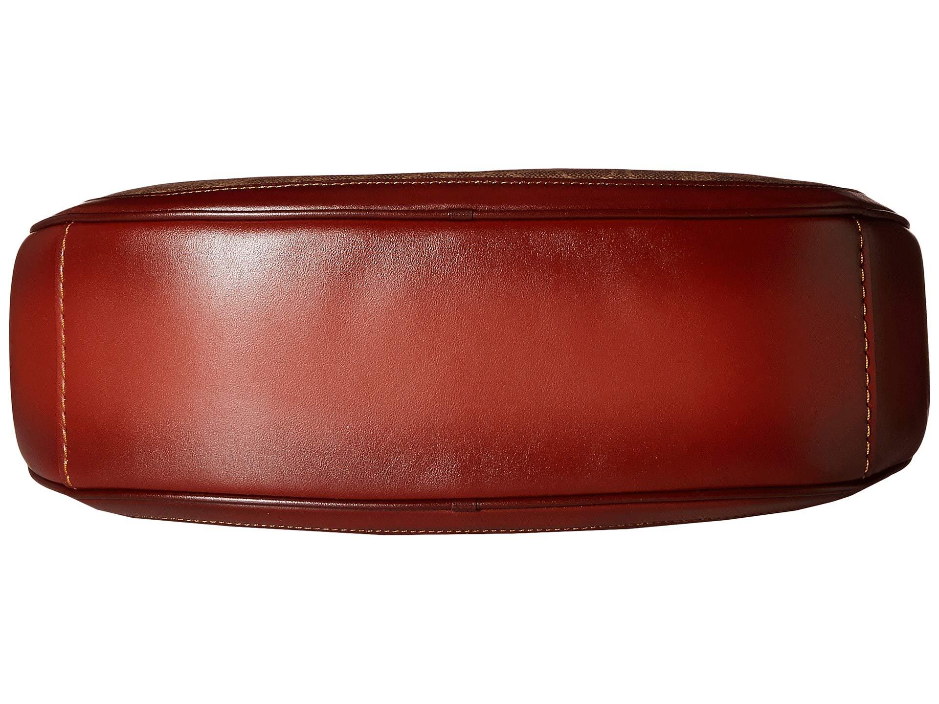 tan Signature Rust Hobo B4 Sutton Coated Coach Canvas TqzwWY
