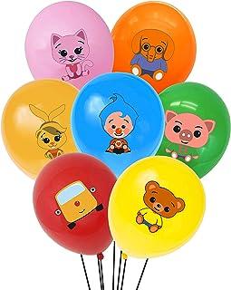 "TUWUNA Plim Plim Party Supplies 35Pcs Plim Plim Balloons 12"" Latex Balloons for Kids Birthday Party Favor Supplies Decorat..."