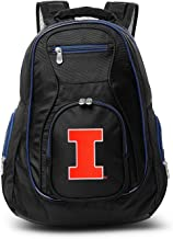 Denco NCAA Colored Trim Premium Laptop Backpack, 19-inches