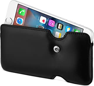 Sena Laterale Leather Holster for iPhone 6 - Black