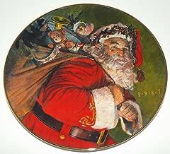 Vintage 1987 Christmas Plate The Magic That Santa Brings