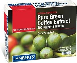 LAMBERTS – COMP PURE GREEN COFFEE 60 COMP Estimated Price : £ 32,93