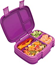 Bentgo Fresh (Purple) – New & Improved Leak-Proof, Versatile 4-Compartment Bento-Style Lunch Box – Ideal for Portion-Contr...