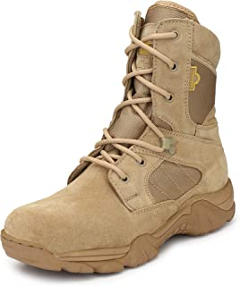 Mikaasa Response 8.0 Side Zip Military and Tactical Boots for Men