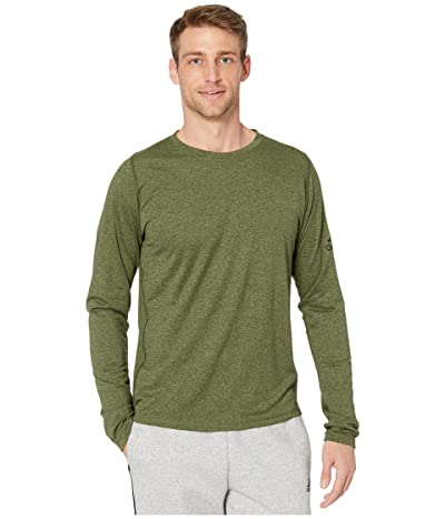 adidas Freelift Long Sleeve T-Shirt (Tech Olive/Legend Earth) Men