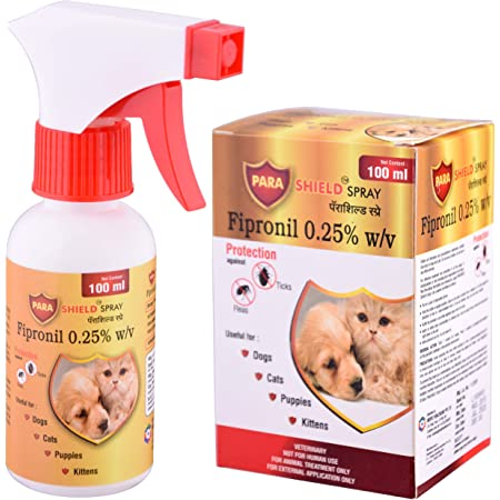 Medfly Parashield Fleas & Ticks Spray for Dogs and Cats - 100 ML