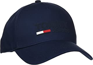 قبعة بيسبول للرجال بشعار TJM من تومي جينز (لون أزرق سي بي كيه)، واحد (المقاس: OS)