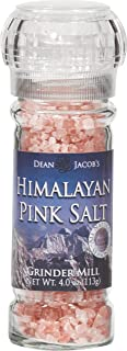 Dean Jacob's Himalayan Pink Salt Glass Grinder ~ 4 oz.