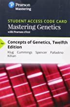 Mastering Genetics with Pearson eText -- Standalone Access Card -- for Concepts of Genetics (12th Edition)