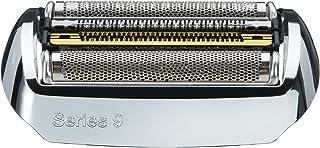 Braun Elektrorasierer Ersatzscherteil 92S, kompatibel mit Series 9 Rasierern, silber