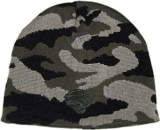 Fan Apparel Jacksonville Jaguars Black & Gray Camouflage Tonal Beanie Hat Toque