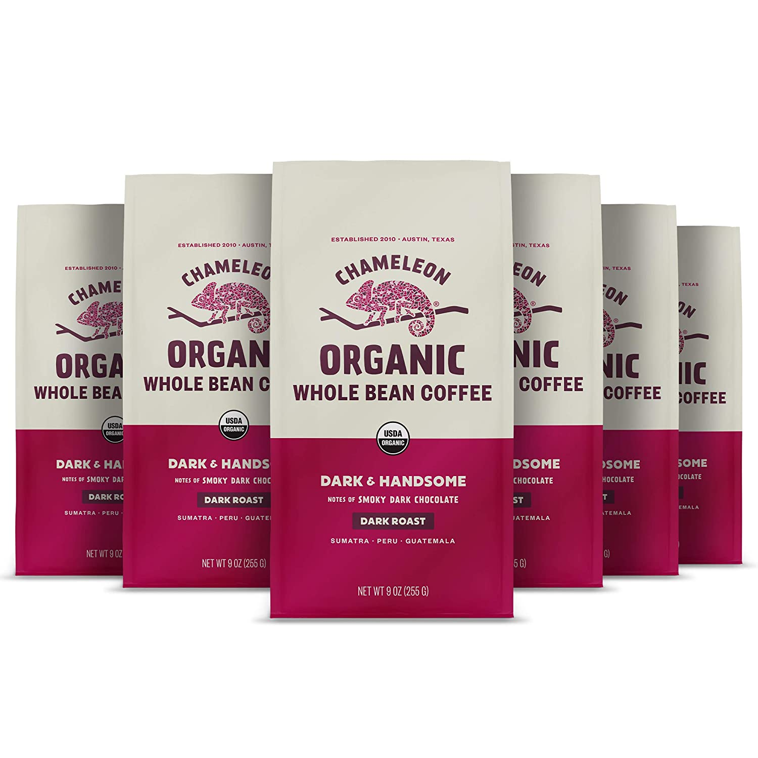 Chameleon Organic Max Manufacturer OFFicial shop 88% OFF Whole Bean Coffee Dark Hand Chocolate Roast
