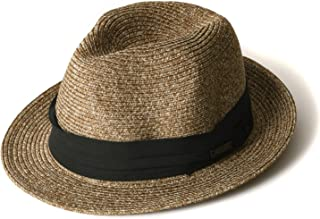 CasualBox(カジュアルボックス) 麦わら帽子 [ 全2サイズ / 全5色展開 ] 折りたたみ可能 UVカット コットン100% (洗濯機使用可能)