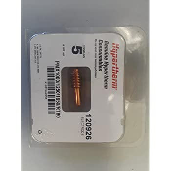 HYPERTHERM 120927 NOZZLE 80A 1250//1650//RT60//RT80  QTY-5