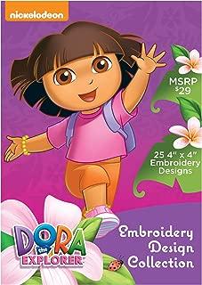 Nickelodeon SANICKDE Dora the Explorer Embroidery Design Collection CD