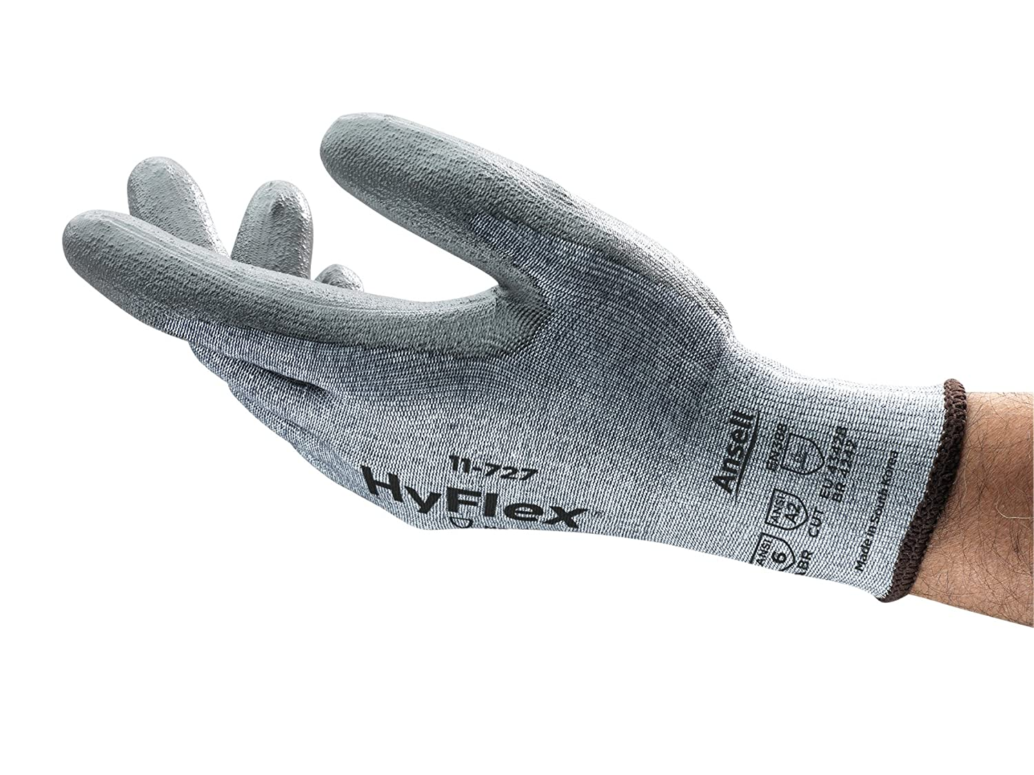HyFlex 11-727 Cut Protection Gloves Medium Our shop OFFers the best service Duty - Max 78% OFF Abrasion resi