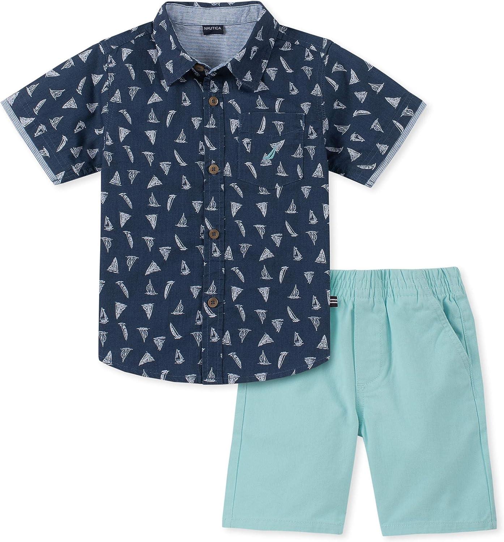 KHQ Nautica Sets Boys Shirt Shorts Set