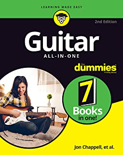 Guitar All–in–One For Dummies: Book + Online Video and Audio Instruction