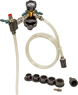OEMTOOLS 24444 Coolant System Refiller Kit, 5 Adapters | Eliminate Trapped Air, and Test Radiator and Heating Core Lines f...