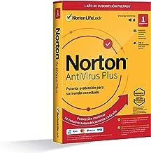 Norton Antivirus Plus 2021 - Antivirus software para 1 Dispositivo y 1 año de suscripción con renovación automática, para ...