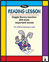 The Reading Lesson Word  Book: Giggle Bunny teaches 200 most important words