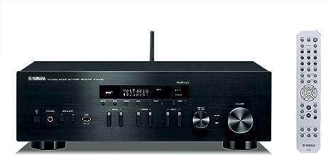 Yamaha MusicCast R-N402D - Receptor estéreo en Red (WiFi, Bluetooth) Color Negro