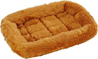 MidWest Homes for Pets 277192 Pet Crate Bed Cinnamon Fur for Pets (40218-CN)