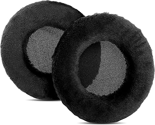 new arrival YDYBZB Ear wholesale Pads Cushion Earpads Pillow Replacement Compatible with ATH AD 1000 X 2000 X high quality 900 X 700 X Headphones (Velour Black) sale