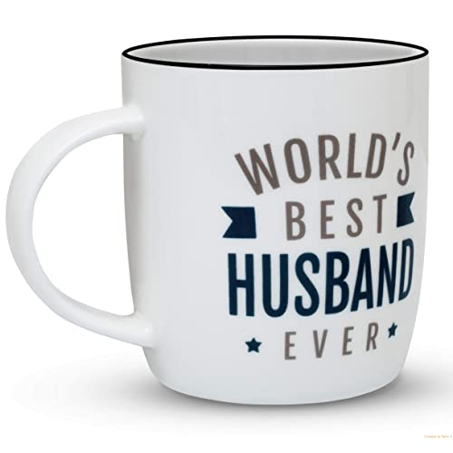 Gifffted Worlds Best Husband Ever Gift Mug Funny Gifts For From Wife Wedding