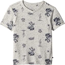 Lucky Brand Kids - Short Sleeve Printed Tee (Toddler)