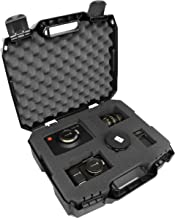 TOUGH-XL Hard-Body Travel and Storage Camera Bag , Gear , and Lens Case - Protects Canon Digital SLR dSLR EOS Rebel T6 , EOS 77D , EOS 9000D , EOS M5 , Rebel T71 , EOS 800D , EOS 5D Mark IV and more