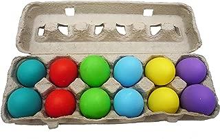 Confetti Eggs Cascarones, Multicolored, 120 Count, Party Game for Easter, San Antonio Fiesta Week, Cinco de Mayo or Birthday Party