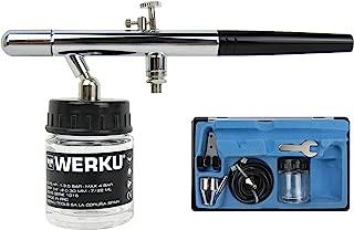 Werku WK500710 Juego Aerografía Succión