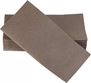 brown paper dinner napkins