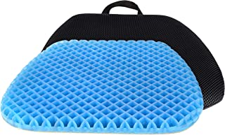 FOMI Premium All Gel Orthopedic Seat Cushion Pad for Car, Office Chair, Wheelchair, or Home. Pressure Sore Relief. Ultimat...