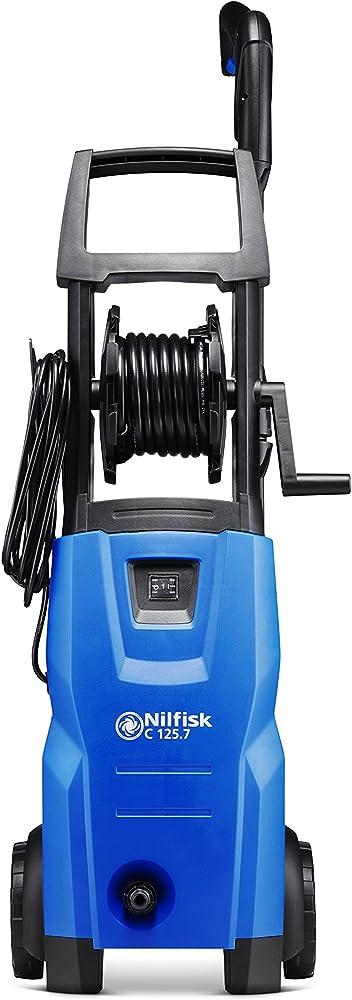 Nilfisk C 125.7 X-TRA Hidrolimpiadora de Agua a Presión, 1500 W, Plástico, Negro/azul