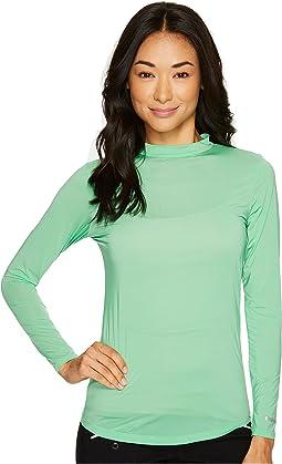 Jamie Sadock - Sunsense® Mandarin Collar Layering Shirt
