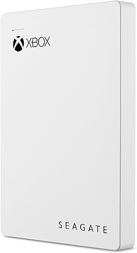 Seagate Game Drive pour Xbox 2TO, Disque dur externe portable HDD, USB3.0 – Blanc, conçu pour XboxOne, abonnement ...